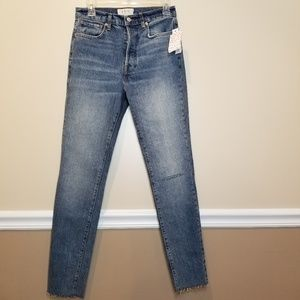 We The Free Light Stella Skinny High Rise Jeans 27